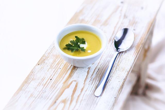 zupy z batatami