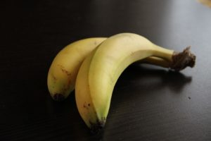alergia na banany