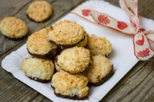 kokosanki z czekoladą